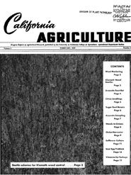 California Agriculture, Vol. 3, No.2
