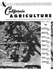 California Agriculture, Vol. 8, No.4