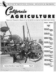 California Agriculture, Vol. 9, No.4