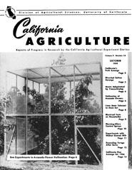 California Agriculture, Vol. 9, No.10