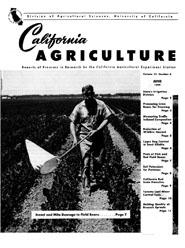 California Agriculture, Vol. 13, No.6