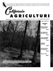 California Agriculture, Vol. 13, No.12