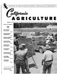 California Agriculture, Vol. 14, No.6