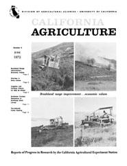 California Agriculture, Vol. 26, No.6