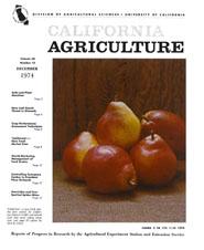 California Agriculture, Vol. 28, No.12