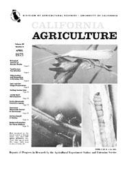 California Agriculture, Vol. 29, No.4