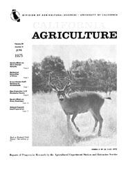 California Agriculture, Vol. 29, No.6