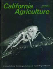 California Agriculture, Vol. 31, No.6