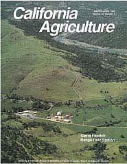 California Agriculture, Vol. 44, No.2