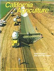 California Agriculture, Vol. 46, No.6