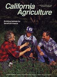 California Agriculture, Vol. 49, No.1