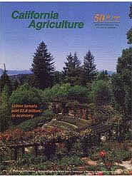 California Agriculture, Vol. 50, No.1