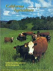 California Agriculture, Vol. 56, No.5