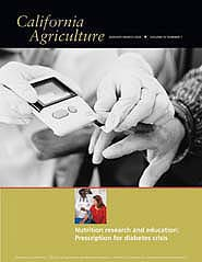 California Agriculture, Vol. 57, No.1