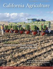 California Agriculture, Vol. 66, No.3