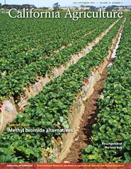 California Agriculture, Vol. 67, No.3