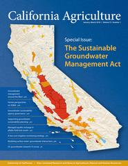 California Agriculture, Vol. 72, No.1